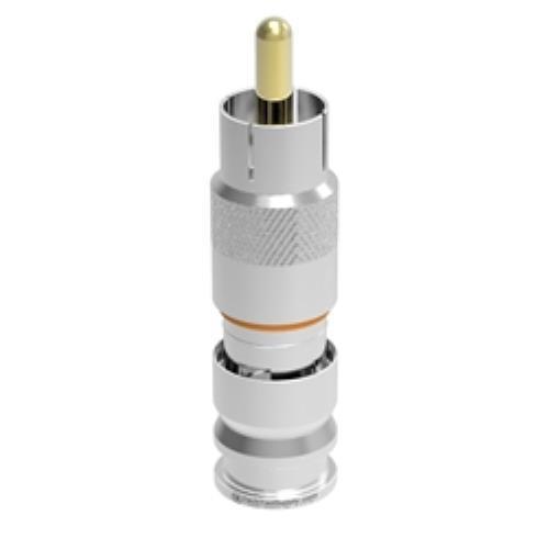 Holland MCV RG6Q RCA Compression Connector - 25pc