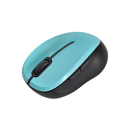 Onn Wireless Mouse, Teal