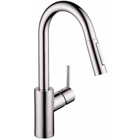 Hansgrohe 04506801 Focus Pullout Spray Prep Kitchen Faucet