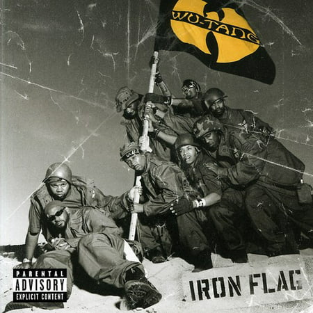 Wu-Tang Iron Flag (CD) (Euro Hip Hop)