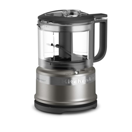 KitchenAid® 3.5 Cup Mini Food Processor - Cocoa Silver -