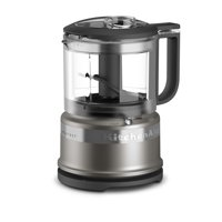 KitchenAid® 3.5 Cup Mini Food Processor - Cocoa Silver - Closeout