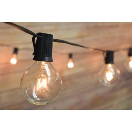 Asian Import Store OUTE12-2-1625BK G40 25 Socket Outdoor Patio String Light Set - image 1 de 1
