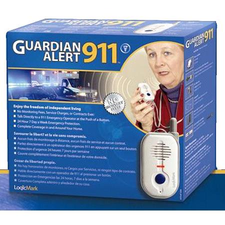 Logicmark Guardian Alert Personal 911 Emergency Response (Best Personal Emergency Response System)