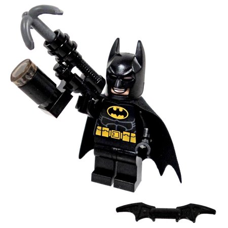 The LEGO Movie Batman Minifigure [Includes Grapple Gun] (Lego Building Gun)
