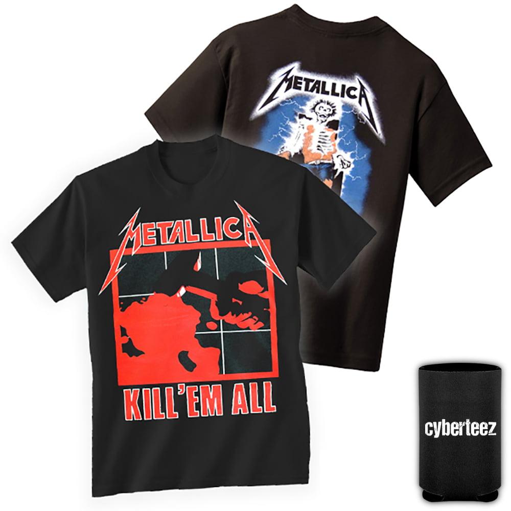 WSND T Shirt Kill Em All Album Cover Band Logo Official Mens Black Size XXL