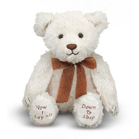 Melissa & Doug Bedtime Prayer Bear, Stuffed Animal with Sound Effects - Prayer Bear