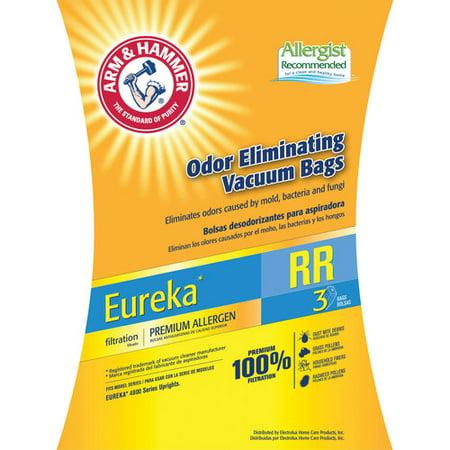 Arm   Hammer Premium Filtration Odor Eliminating Vacuum Bags  Eureka Rr Premium  3 Pack