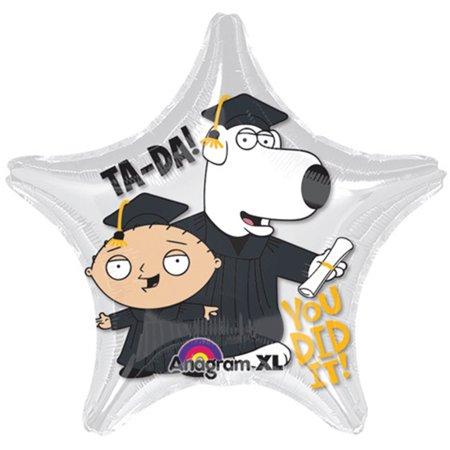 Family Guy Stewie & Brian Graduation 18