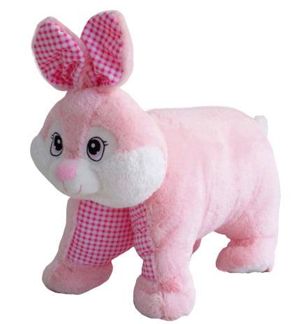 Pink Bunny Pillow Plush
