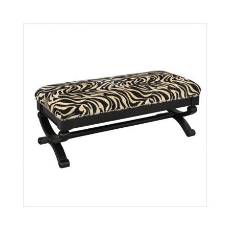 Stein world upholstered bench in animal print Leopard print bench