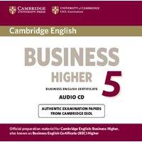 Bec Practice Tests: Cambridge English Business 5 Higher Audio CD (Audiobook)