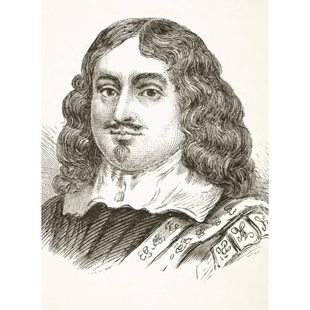 Edward Hyde 1St Earl Of Clarendon 1609 To 1674 English Historian Chancellor Of The Exchequer Lord Chancellor From The National And Domestic History Of England By William Aubrey Published London Circa ()