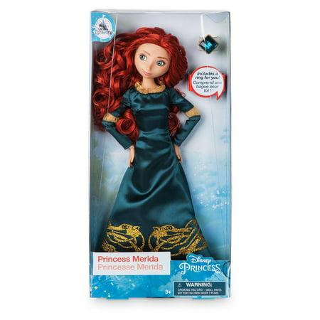 Disney Princess Merida Classic Doll with Ring New with Box (Merida Hair)