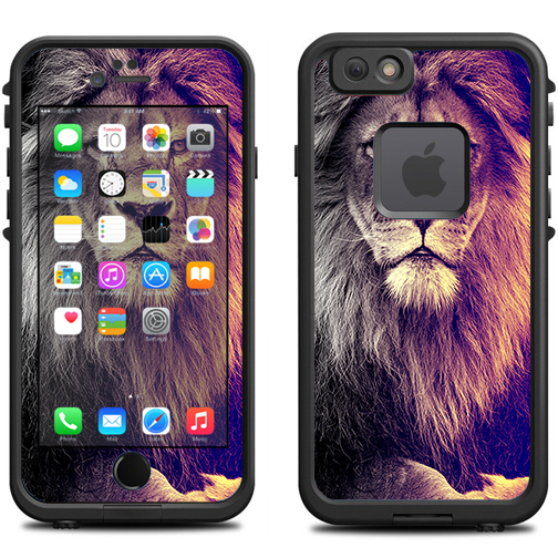 Skin Decal For Lifeproof Iphone 6 Fre Case / Proud Lion, King Of The Pride