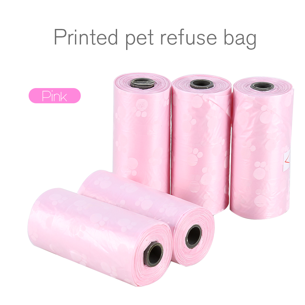 Poop Bags Dog Waste Bags, Earth Friendly, Leak-Proof Pet Poop Carrier Bag Biodegradable Garbage Bags,10 Rolls/150 bags with Dispenser