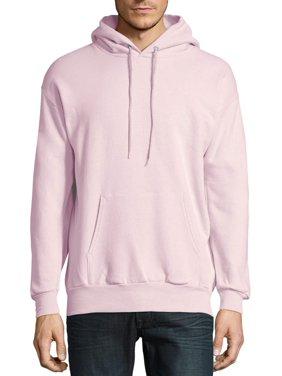 Hanes Men's and Big Men's Ecosmart Fleece Pullover Hoodie Sweatshirt, up to Size 5XL