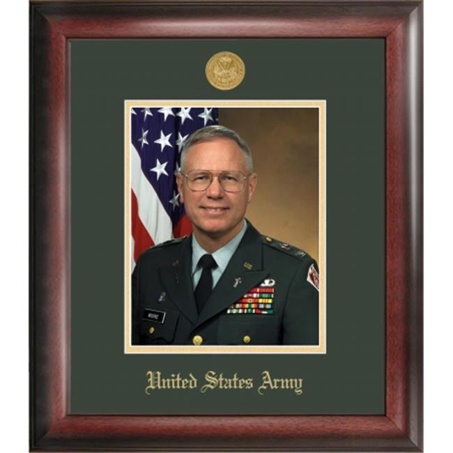 Campus Image ARPG001 Army Portrait Frame Gold Medallion