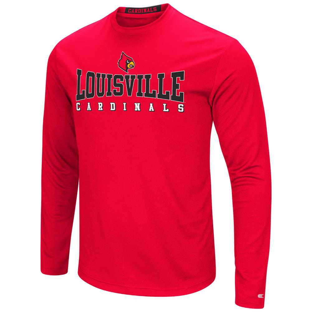 Louisville Cardinals T-Shirt Performance Long Sleeve Shirt