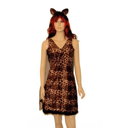 Leopard Cat Dress Costume - Leopard Dress Costume