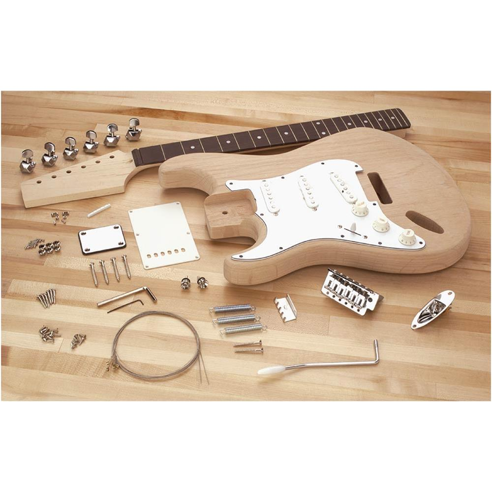 Grizzly T24830 Left-Handed Electric Guitar Kit