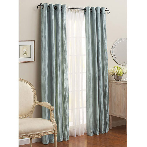 Better Homes And Gardens Crushed Taffeta Curtains, Set Of 2, Multiple Sizes  Available   Walmart.com