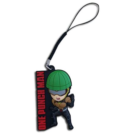 Cell Phone Charm - One-Punch Man - SD Mumen Rider New ge17472