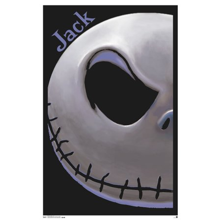 Trends International The Nightmare Before Christmas Jack Black Light Poster 23   X 35