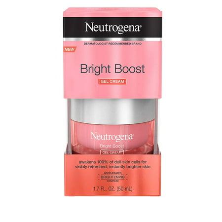 Neutrogena Bright Boost Brightening Gel Moisturizing Face Cream 1.70 oz Face Moisturizing Gel