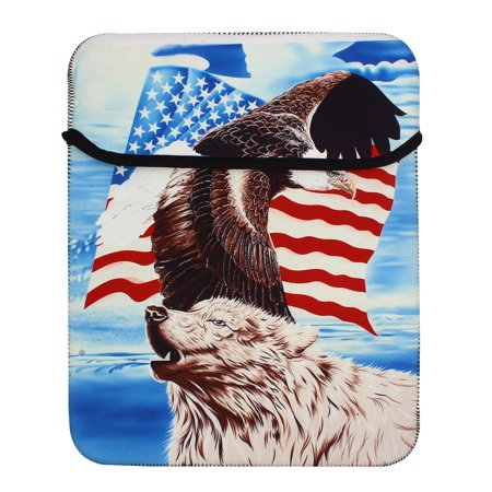 Buy Good Gift 13″ Tablet Notebook Laptop Eagle Pinted Sleeve Bag Case Before Too Late