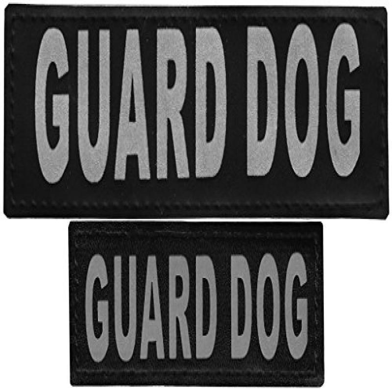 "Removable Velcro Patches ""GUARD DOG"""