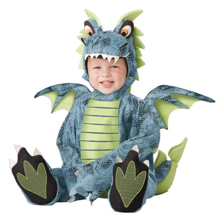 Darling Dragon Infant Romper Halloween Costume - Infant Peacock Halloween Costume