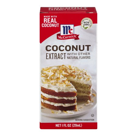 Mccormick  Coconut Extract With Other Natural Flavors  1 Fl Oz