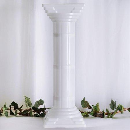 BalsaCircle 4 Pcs 32 White Roman Empire Columns