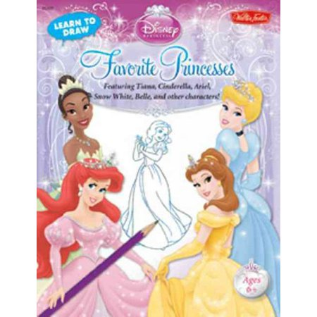 Learn to Draw Disney Princess Favorite Princesses: Featuring Tiana, Cinderella, Ariel, Snow White, Belle, and Other Characters! (Learn to Draw) - Disney Character Ideas For Dressing Up