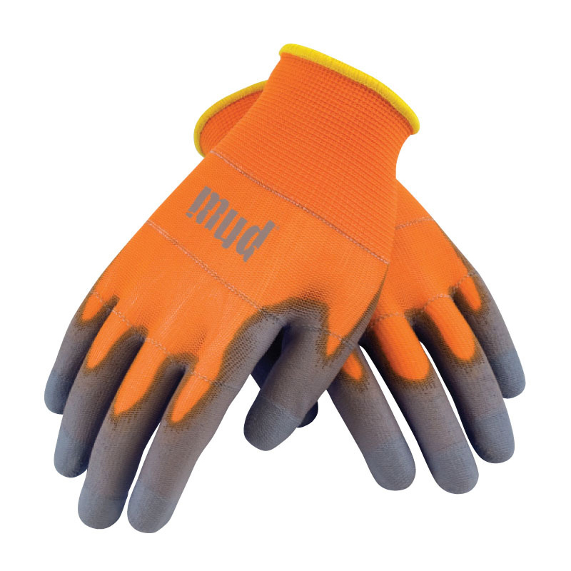 Smart Mud Garden Gloves - Orange (Medium)