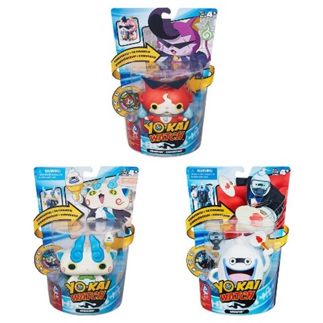 Hasbro HSBB5946 Yokai Converting Characters Assorted , Pack of 4 by Hasbro