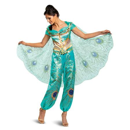 Disney Aladdin Live Action Womens Jasmine Costume - image 1 de 3