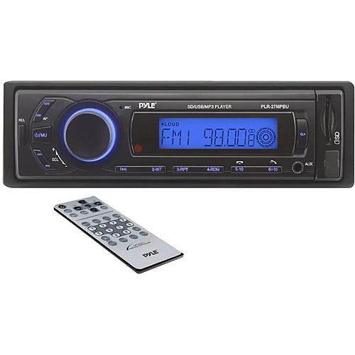 Pyle PLR27MPBU AM/FM/SD/USB/MP3/AUX Receiver