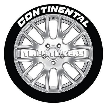 Continental Tire Stickers >> Continental Tire Stickers White 1 0 For All Wheel Sizes 4 Pack