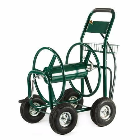 - XtremepowerUS 300ft Water Hose Reel Cart Garden Outdoor Planting