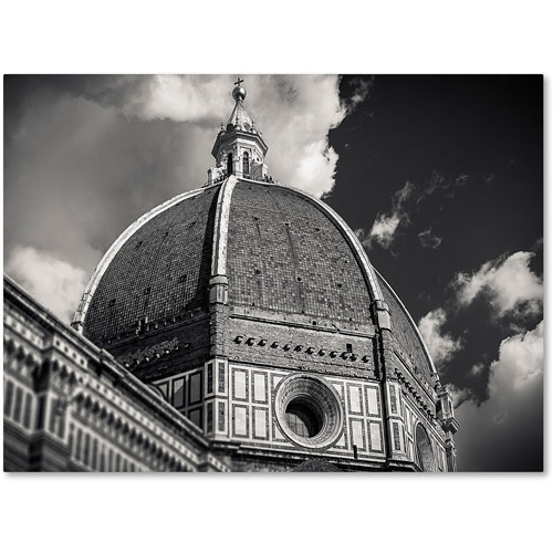 """Trademark Fine Art """"The Big Dome"""" Canvas Art by Giuseppe Torre"""