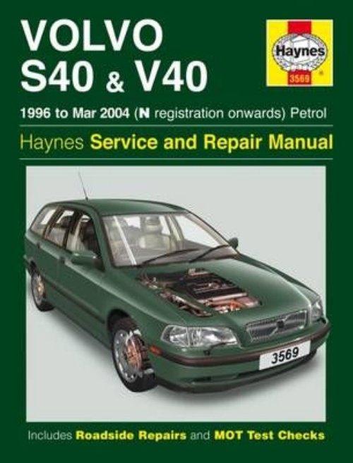 volvo s40 v40 petrol owner s workshop manual 96 04 paperback rh walmart com 2001 Volvo S40 Volvo S60 R