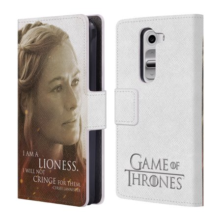 Official Hbo Game Of Thrones Character Portraits Leather Book Wallet Case Cover For Lg Phones 1