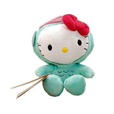 sanrio hello kitty plush - hello kitty as hangyodon (6 inch)