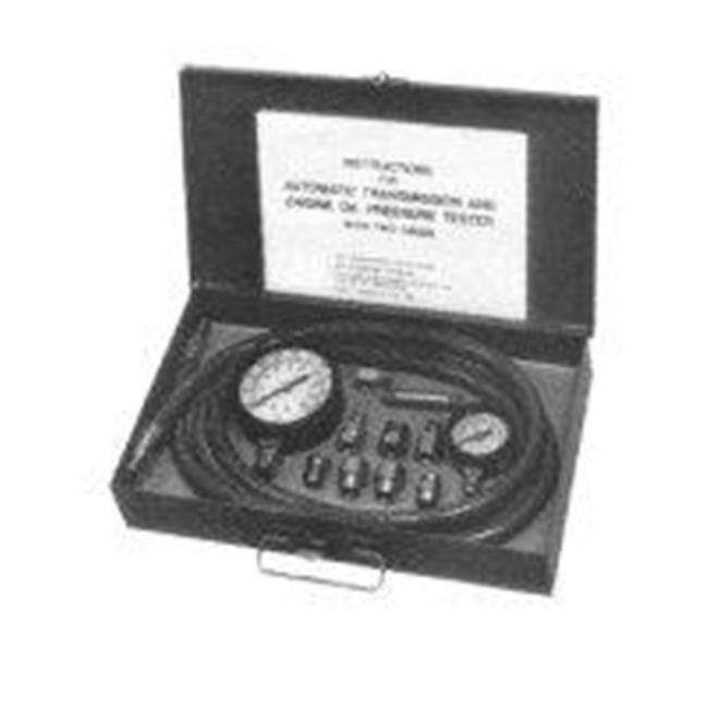 SG Tool Aid SGT34580 Automatic Transmission And Engine Oil Pressure Tester With Two Gages In Molded Plastic Storage Case - image 1 of 1