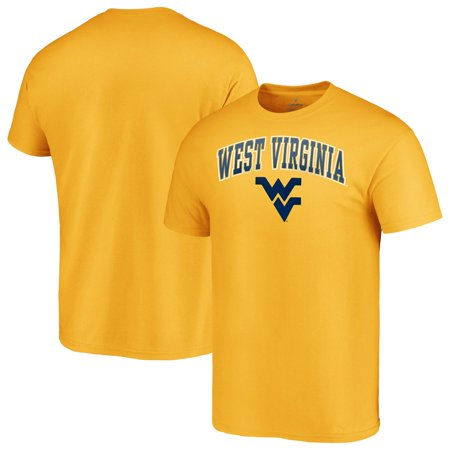 West Virginia Mountaineers Fanatics Branded Campus T-Shirt - Gold