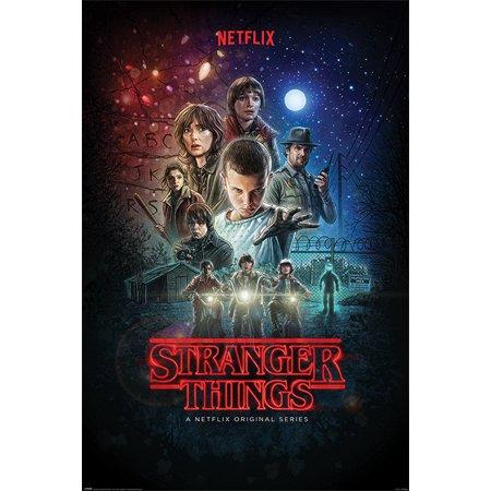 Stranger Things - TV Show Poster / Print (Season 1 - Regular Style / One-Seet) (Size: 24