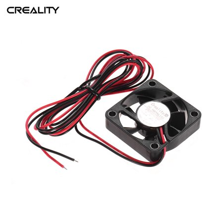 Creality 3D 4010 Brushless Cooling Fan 40 * 40 * 10mm 24V DC with Ball Bearing for Ender 3 3D Printer Extruder