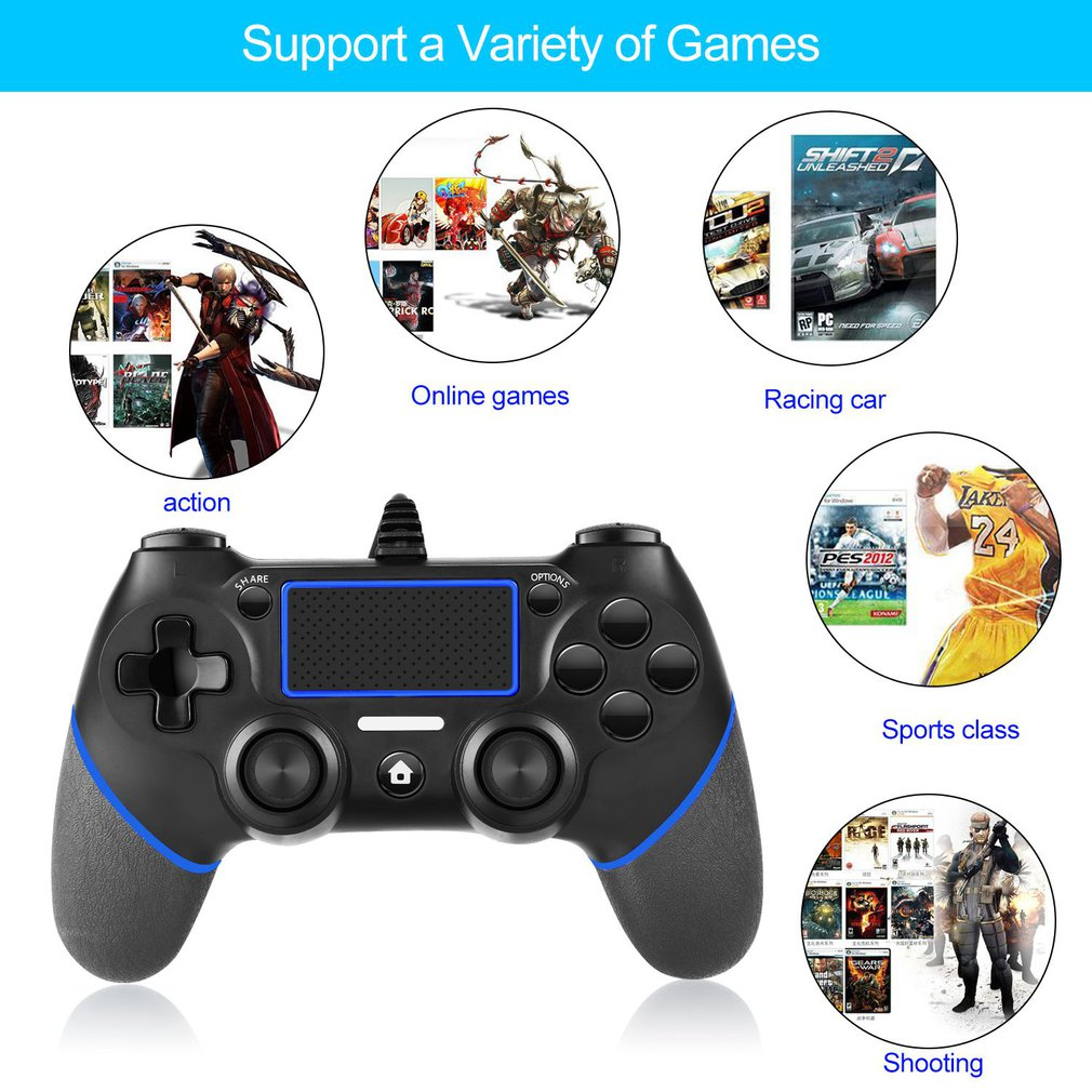 Wireless Game Controller For Playstation 4 Console Pc Laptop Computer Play Gaming Gamepad Joystick Game Handle For Ps4 Controller Walmart Canada